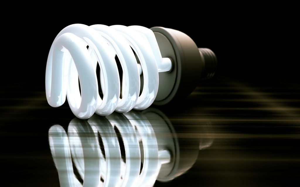 electricians offering home wiring services featuring a lightbulb
